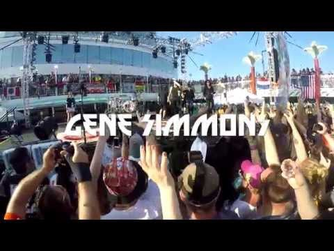 KISS KRUISE V - ELECTRIC UNMASKED SAIL AWAY SHOW