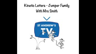 Kinetic Letters - Jumper family with Mrs Smith