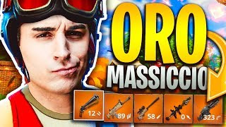 ANIMA CONTRO I TEAM SU ORO MASSICCIO! NUOVA SKIN ASSURDA! Fortnite Battle Royale