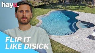 Scott Disick Gets Infinity Pool Installed In His Home   Season 1   Flip It Like Disick
