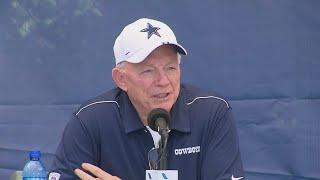 Jerry Jones Talks Ezekiel Elliott At Cowboys' State Of The Team Address