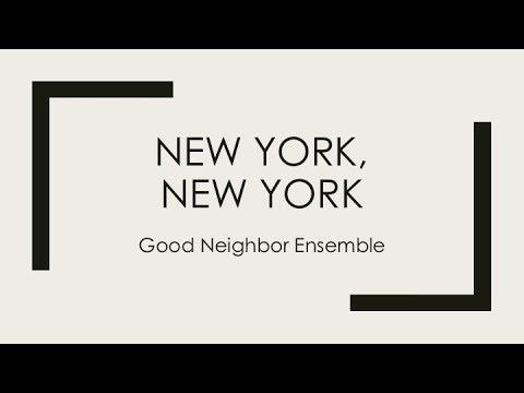 2018 Good Neighbor Ministry Benefit Concert_New York, New York