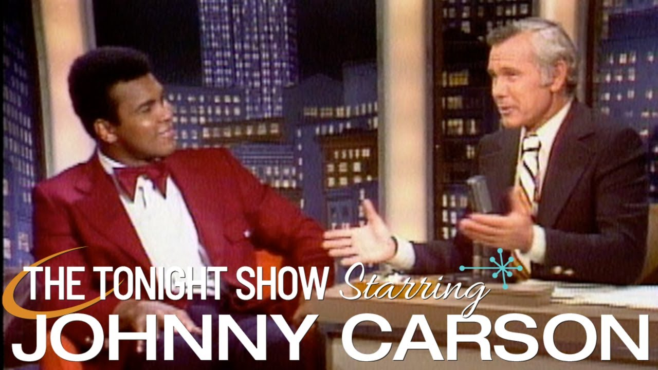 Muhammed Ali Talks About Getting His Jaw Broken By Ken Norton - Carson Tonight Show - 05/17/1973