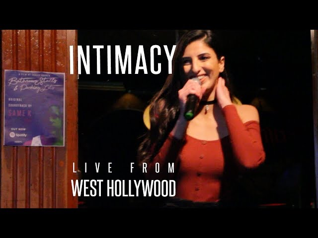 Ines Belayouni - Intimacy (Live from West Hollywood / From Bathroom Stalls & Parking Lots)
