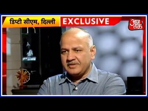 An Interview With Delhi's Deputy CM Manish Sisodia