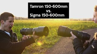 Tamron vs Sigma 150-600mm | Unboxing | Zoom-Monsters in a Real World Review
