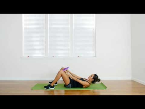 Inner Thigh Squeeze with 321 STRONG Pilates Ring