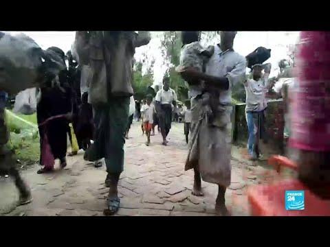 Rohingya Muslims in