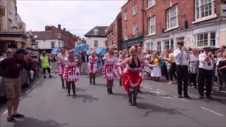 Upton Upon Severn Jazz Festival 2018 -Excerpts from Opening Parade