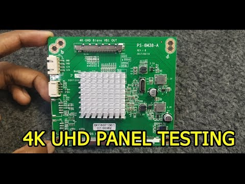 4K UHD PANEL HOW TO TESTING EXPLAIN HINDI TUTORIAL #4K_UHD_PANEL_TEST