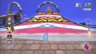 Modnation Racers - Custom Track - Rainbow Road Wii