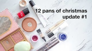 12 Pans of Christmas Project Pan Collab Update #1   morerebe