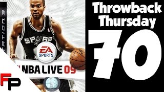 NBA Live 09 Xbox 360 on Throwback Thursday No. 70