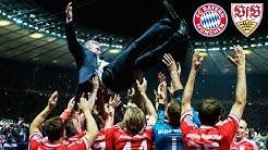 FC Bayern clinch triple | Highlights of the DFB-Pokal final 2013 vs. VfB Stuttgart