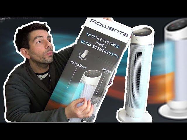 ROWENTA SILENT COMFORT : Chauffage & Ventilateur + Filtre d'air ? Tout en 1