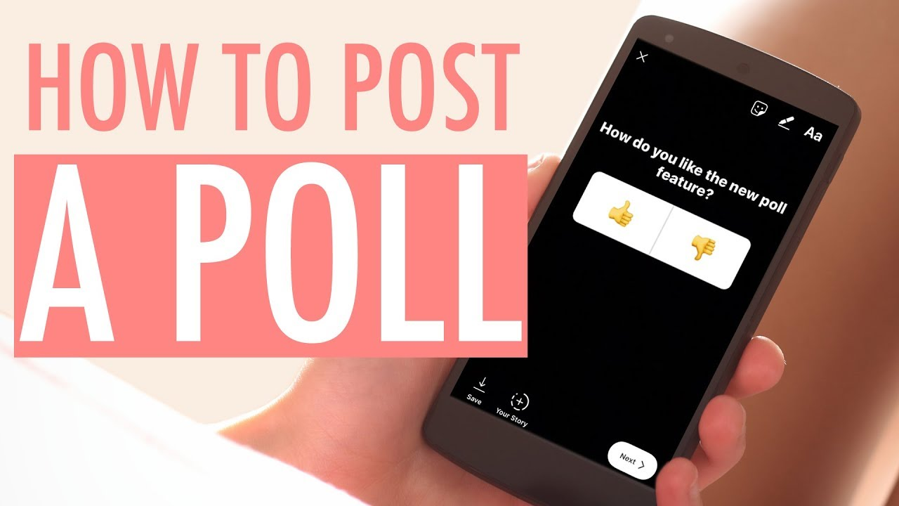 How to Post a Poll on Instagram