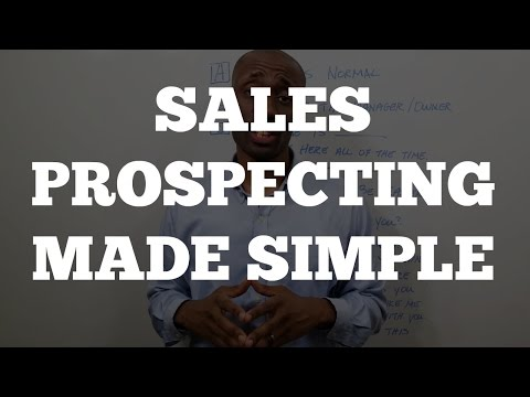 Local Marketing Agency: Sales Prospecting Made Simple