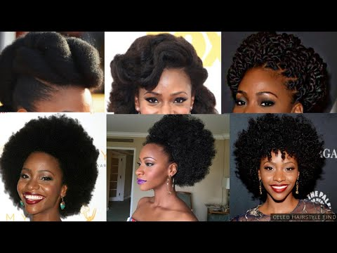 Type 4 Natural Hairstyles Compilation