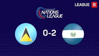 #CNL Highlights - Saint Lucia 0-2 El Salvador
