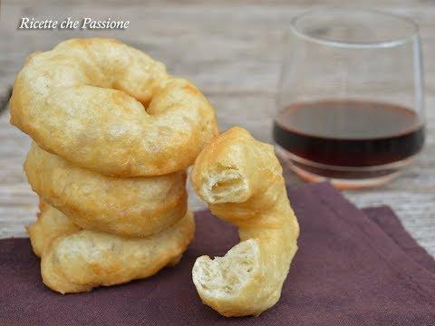 Zeppole calabresi senza patate (crespelle o crispedde) - Ricetta calabrese - Ricette che Passione