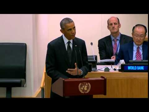 President Obama Remarks at UN Meeting on Ebola Epidemic