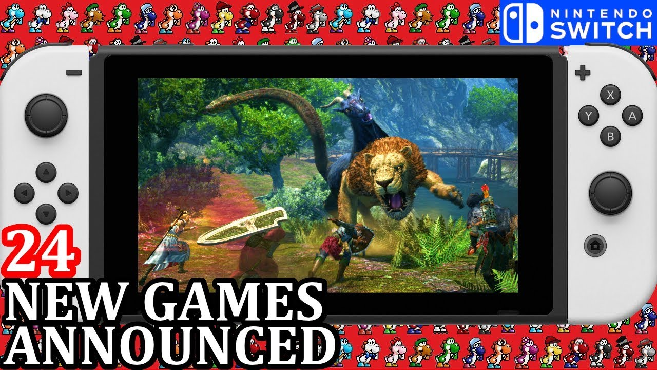 24 New Nintendo Switch Games Announced For Week 2 January