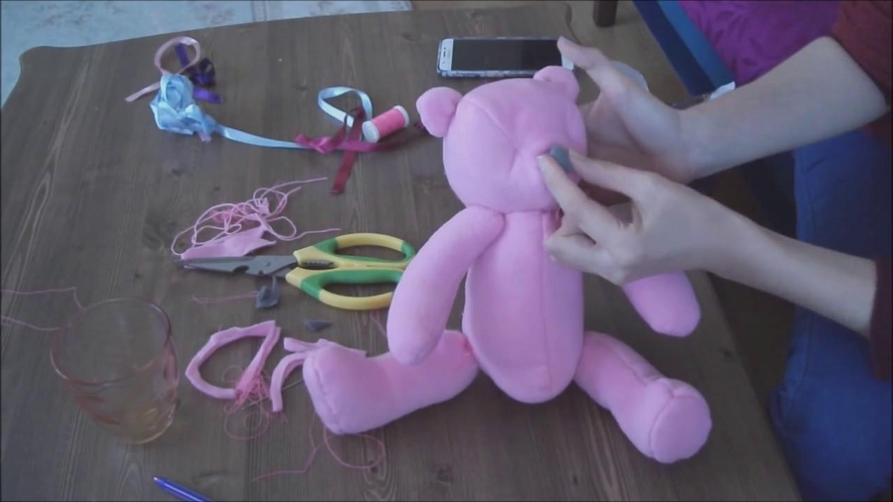 3 dakikada oyuncak yap / havludan oyuncak yapımı