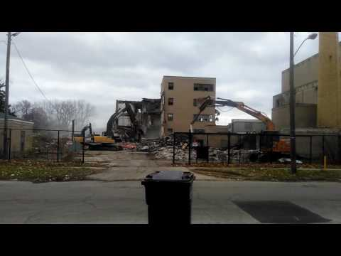 Watching Benton harbor hospital fall