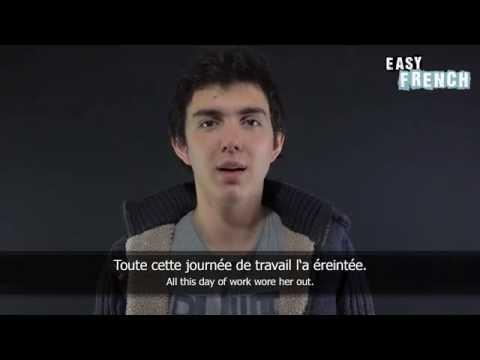 Tiếng Pháp bài 6