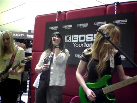 Iron Maidens at Winter NAMM 2012 in the Roland Corporation filmed by Frank Boxberger Metal