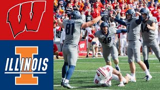 #6 Wisconsin vs Illinois Highlights | NCAAF Week 8 | College Football Highlights