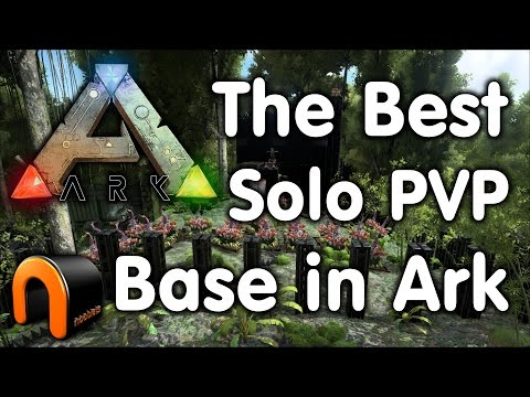 The Best Solo Player PVP Base in Ark?