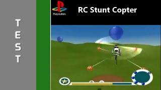 Test RC Stunt Copter (PS1) Français