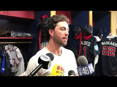 Dansby Swanson from the Braves Clubhouse at Disney 2019