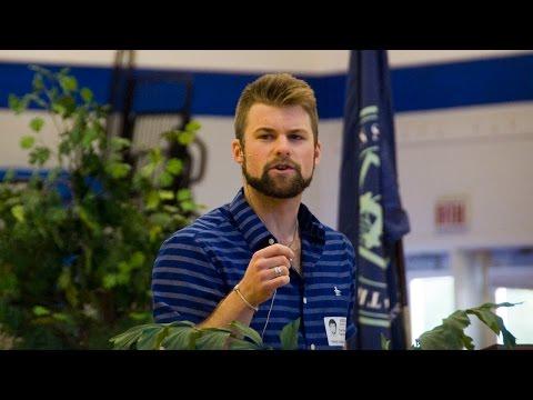 TCS Alumnus Evan Reyle '10 Speaks at Middle and Upper School Chapel