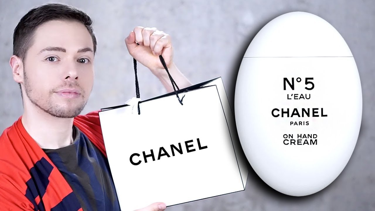 67efed9056 CHANEL N°5 HAND CREAM UNBOXING & REVIEW