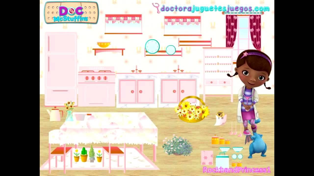 doc mcstuffins game - doc mcstuffins kitchen game - youtube