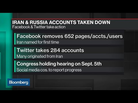 Facebook and Twitter Remove Fake Accounts Linked to Russia and Iran