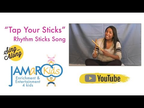 Rhythm Sticks Children's Song - JAMaROO Kids