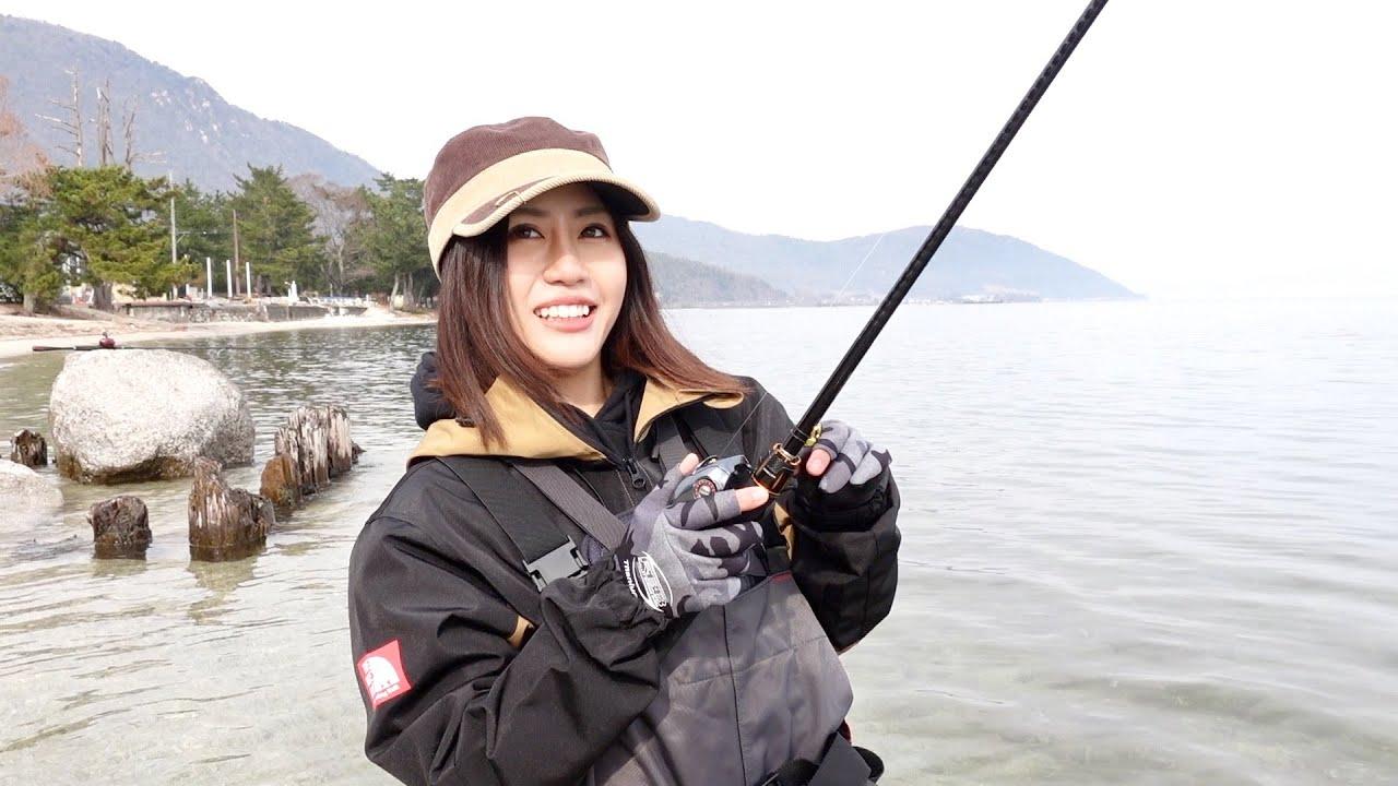 もっぴとバス釣りデートin琵琶湖