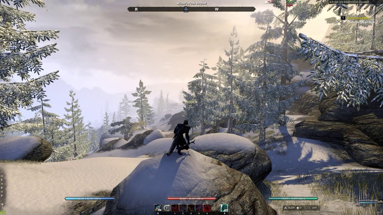 ESO Flickering and Popping Issues