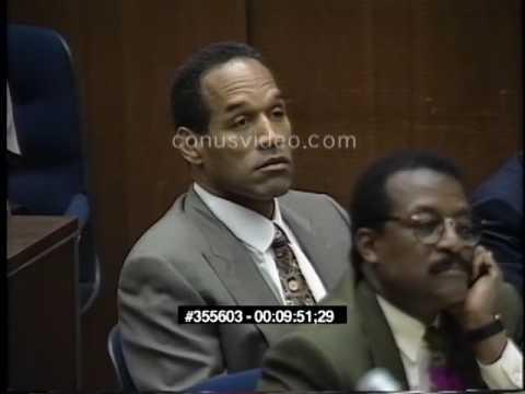 OJ Simpson Trial - February 21st, 1995 - Part 6 (Last part)