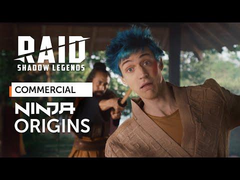 RAID: Shadow Legends | RAID x Ninja | Ninja Origins (Official Commercial)