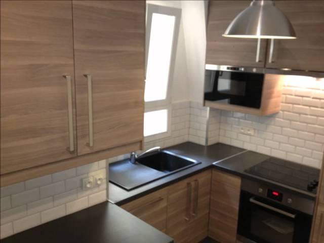 Ré-agencement cuisine parisienne 5m2 fonctionnelle et totalement ...