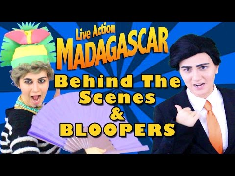 Madagascar Movie Dreamworks Live Action Behind The Scenes - Madi2theMax