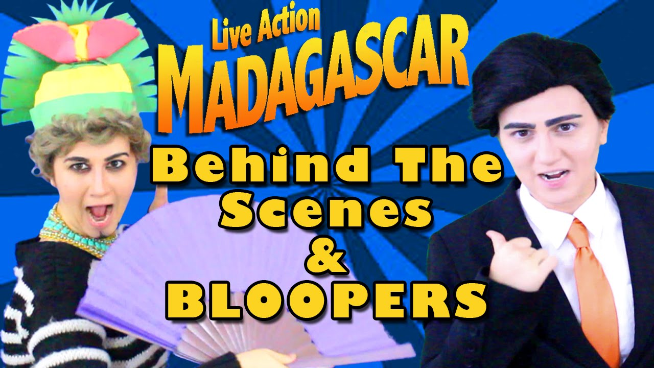 Download Madagascar Movie Dreamworks Live Action Behind The Scenes - Madi2theMax