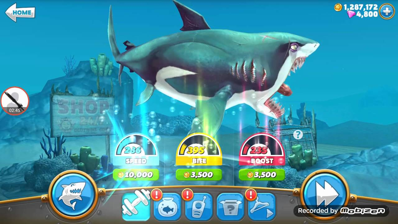 Hungry Shark World Unlimited Gems And Gold Coins Hack Root And