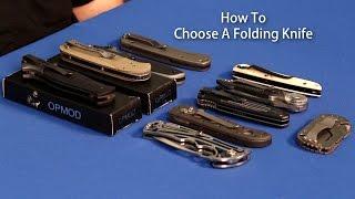 How To Choose a Folding Knife - OpticsPlanet.com