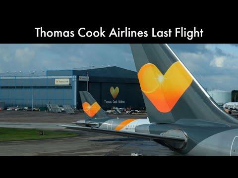 Thomas Cook Airlines Last Flight