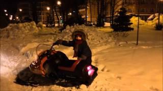 Kid sleds Детский снегоход